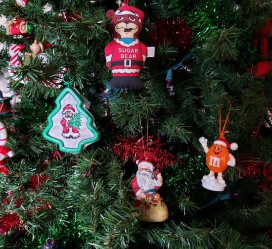 Variant Santa Ornaments!