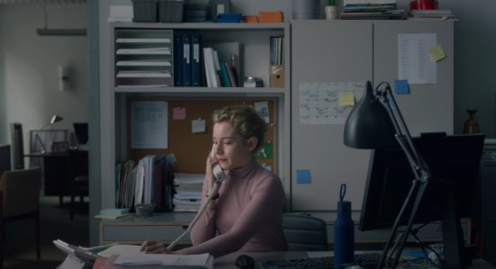 "Julia Garner in ""The Assistant""."