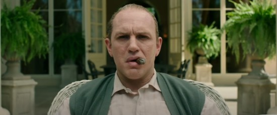 Tom Hardy as Al Capone.