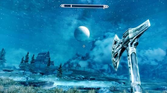 Skyrim Epic Elven Warhammer at Night!