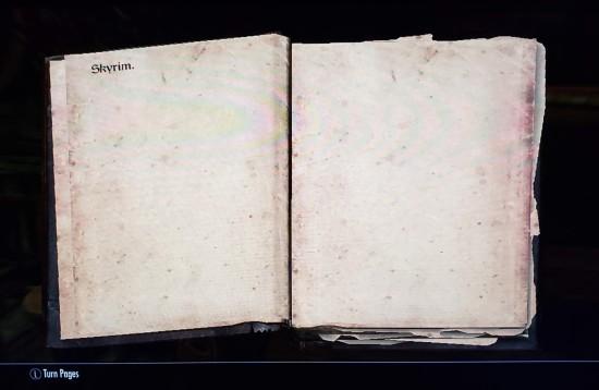 Skyrim The Book!