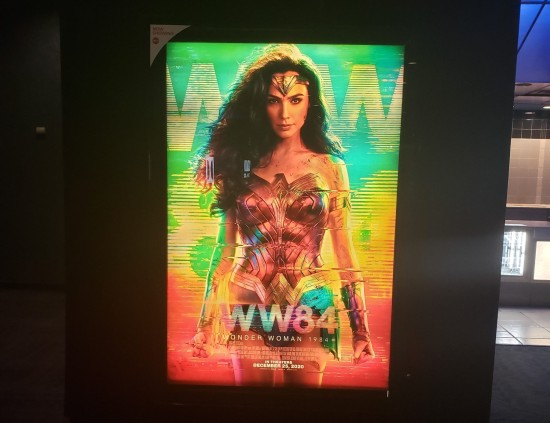 """Wonder Woman 1984"" poster at AMC Perry Crossing."