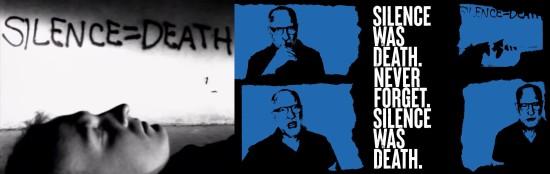 Bob Mould, Silence = Death.