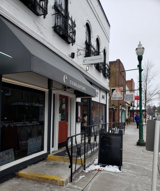 Cobblestone, restaurant in Ziolnsville, Indiana.