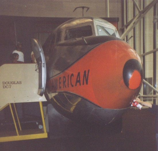 An unidentified  Red Plane in the Smithsonian.