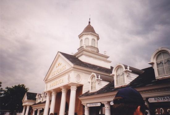 Six Flags America entrance.