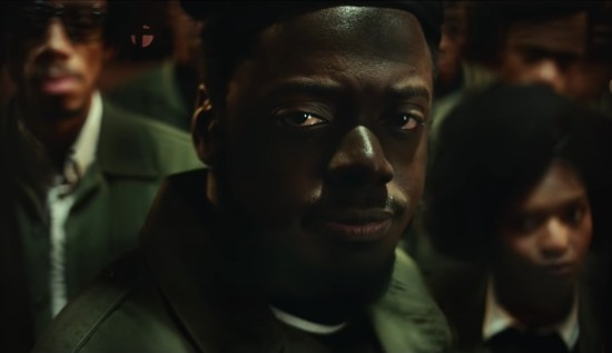 "Daniel Kaluuya in ""Judas and the Black Messiah""."