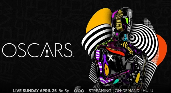 Oscars 2021 telecast title card.