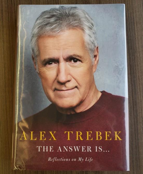 Alex Trebek's memoir