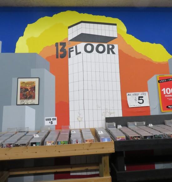 13th Floor Music mural.