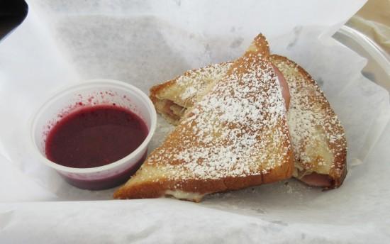 Monte Cristo sandwich!