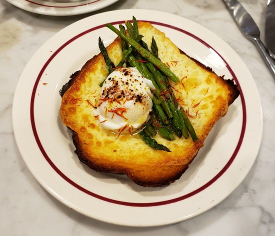 truffled egg tartine!