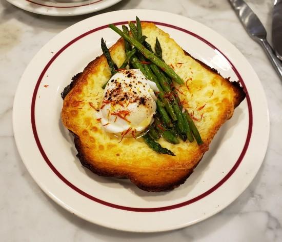 truffled egg tartine!