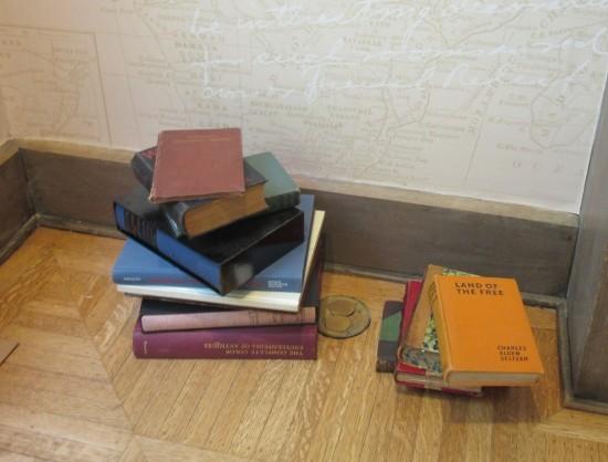 book stacks!