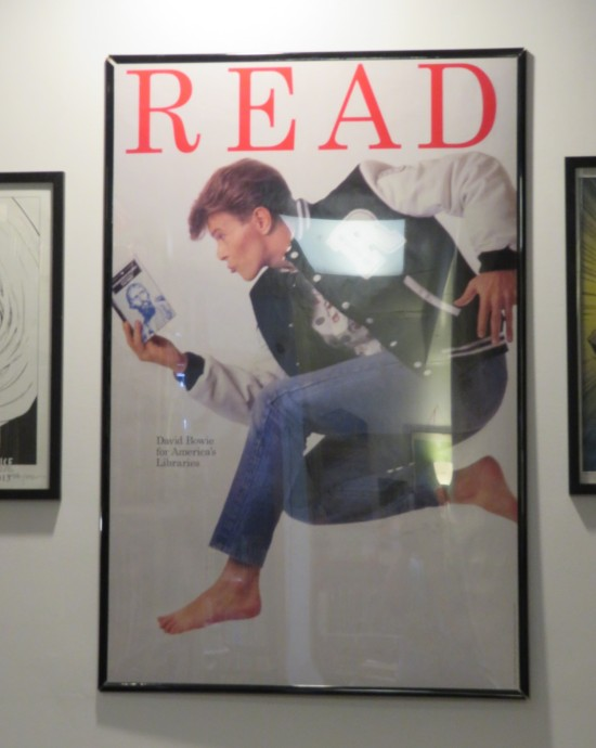 David Bowie Poster.