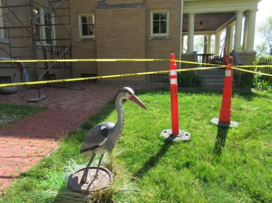 Muncie bird statue.