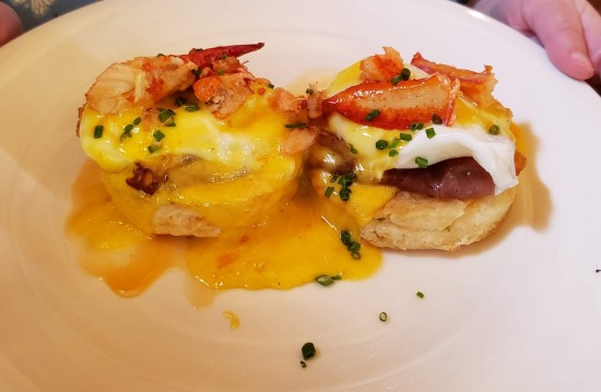 lobster Benedict at Neely House.