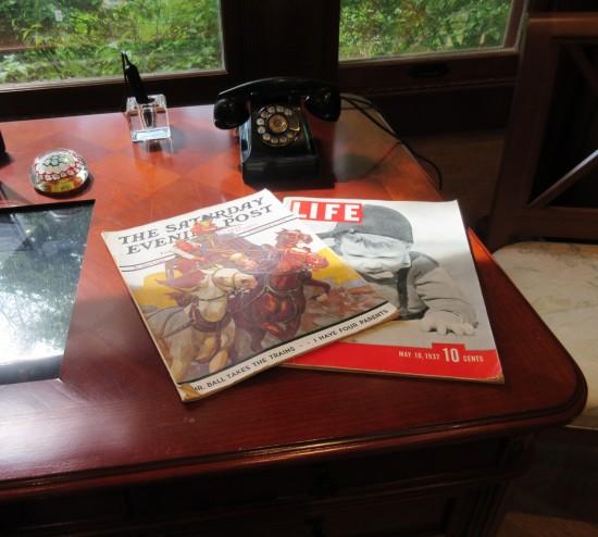 old-timey magazines!