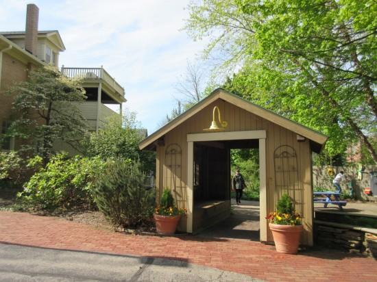 backyard shed.