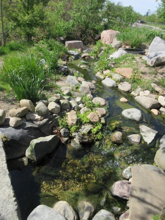 Minnetrista garden pool.