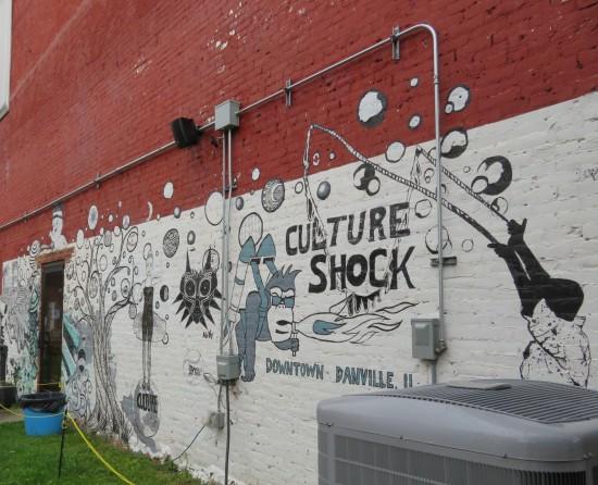 Danville Festival mural.