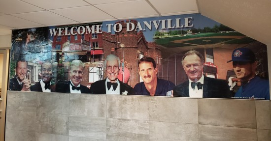Danville McDonald's mural.