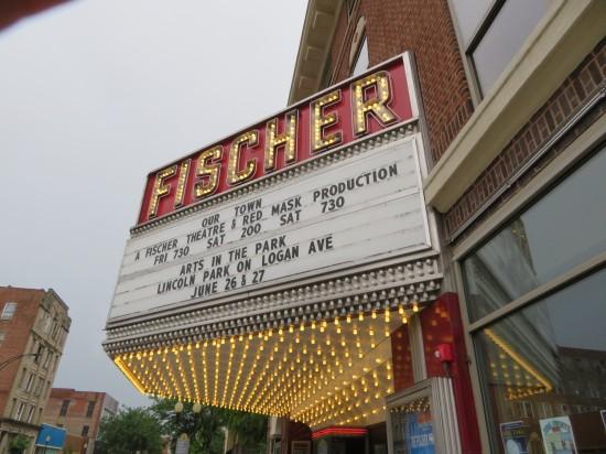 Danville Illinois theater.