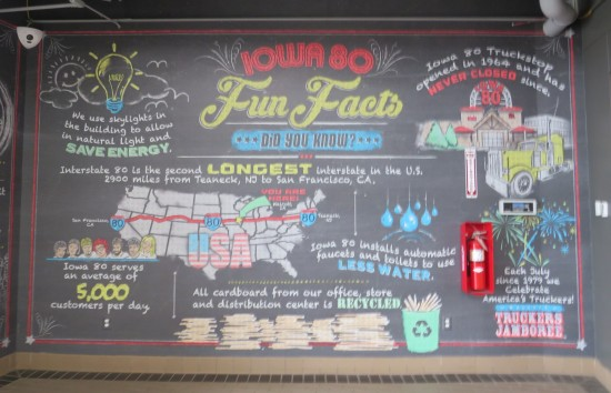 Iowa 80 Truckstop Fun Facts!