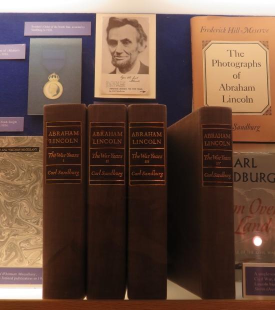 Carl Sandburg's Lincoln biography!