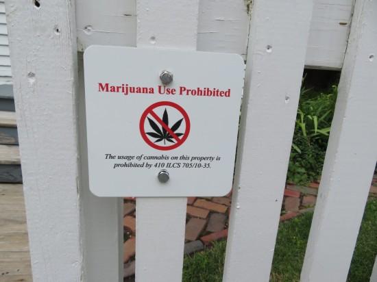 Marijuana Use Prohibited!