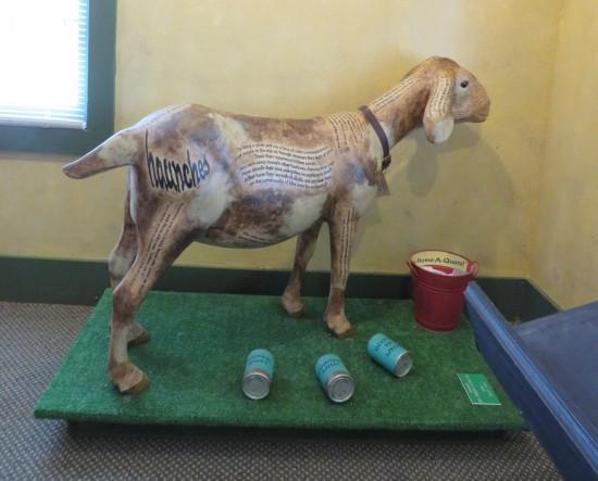 Carl Sandburg Poetry Goat!