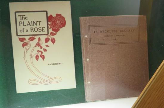 Carl Sandburg books.
