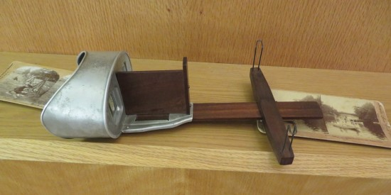 Carl Sandburg stereoscope!