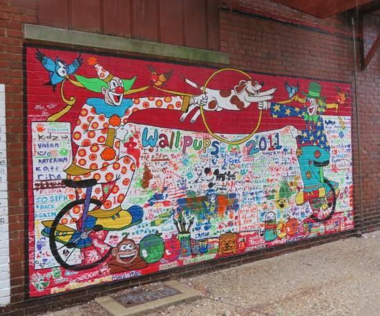 Wallpups mural part 2.