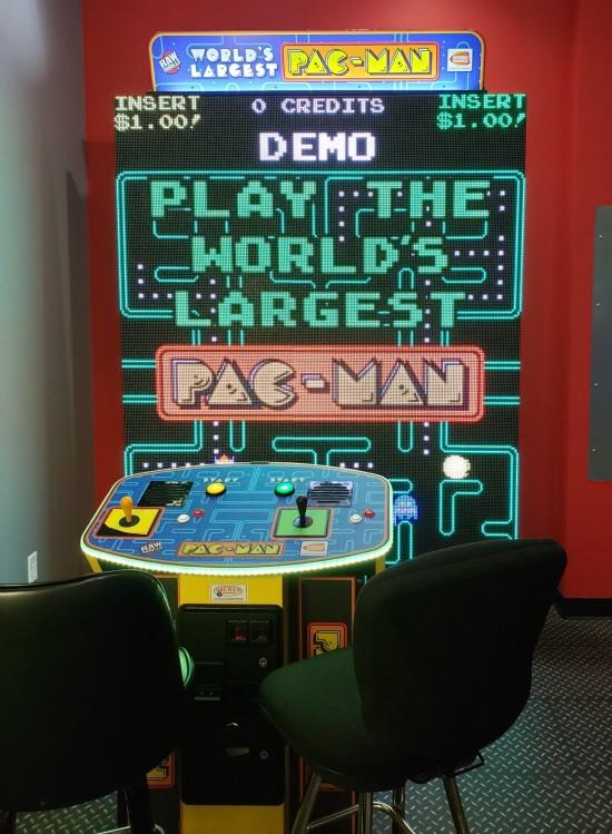 World's Largest Pac-Man at Iowa 80!