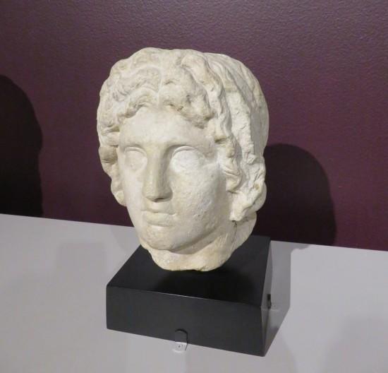 Alexander the Great sculpture.