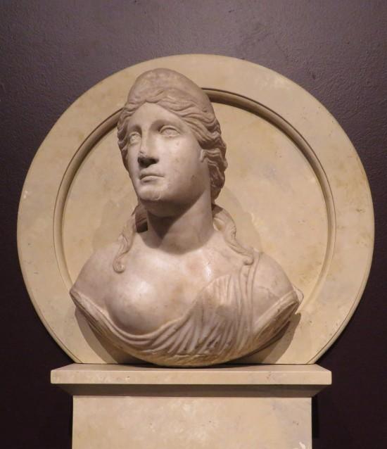 Antonine Woman as Venus sculpture.