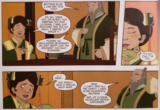 Avatar Airbender old restaurant owner!
