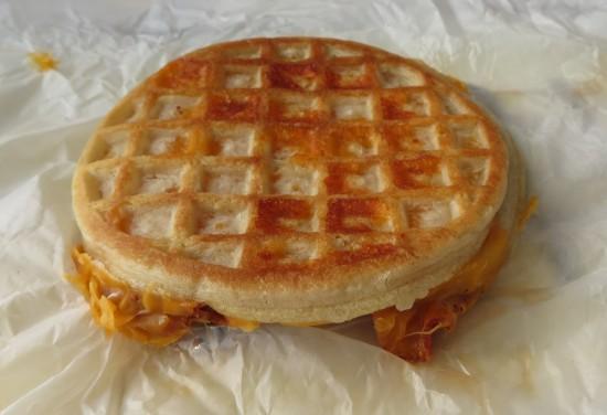 Buttermilk Wafflewich breakfast sandwich!