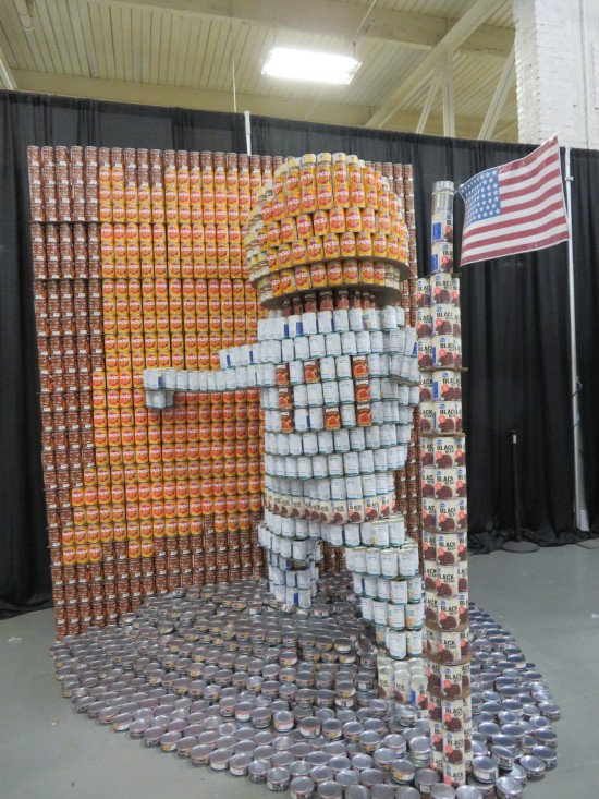 canned astronaut!