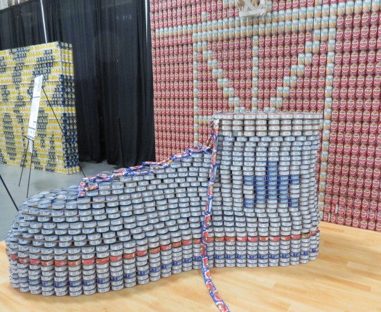 canned athletic shoe!