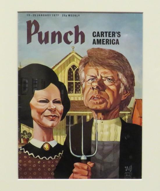 Jimmy Carter Gothic parody.