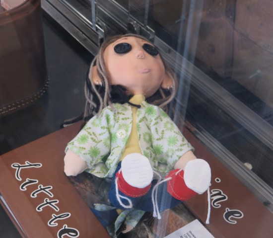 Neil Gaiman Coraline doll!