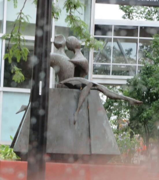 dancer sculpture!