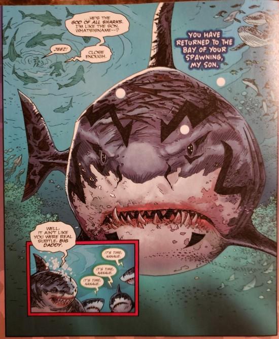 DC's King Shark's Dad!