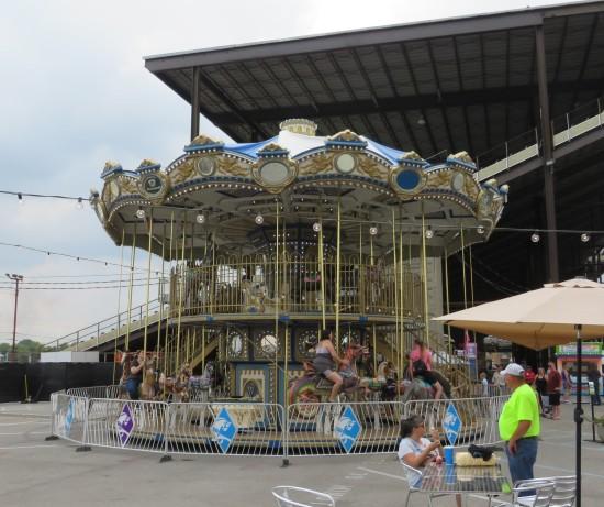 double-decker carousel!