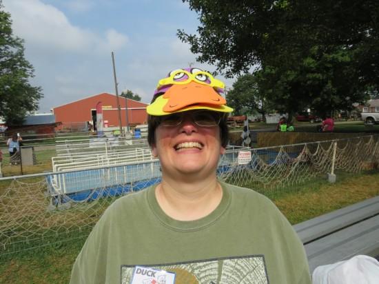 duck racing hat!