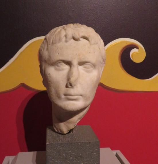 Emperor Augustus bust, Cedar Rapids.