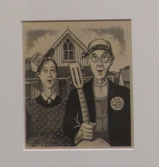 Farm Aid American Gothic!