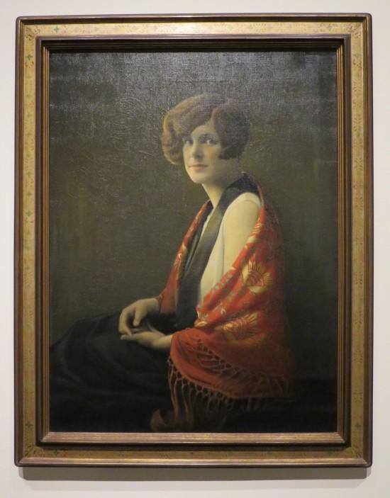 Grant Wood, Frances Fiske Marshall.